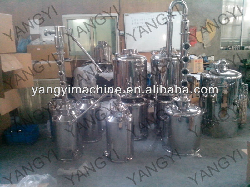 "stainless distiller/pot stills/2""pot stills"