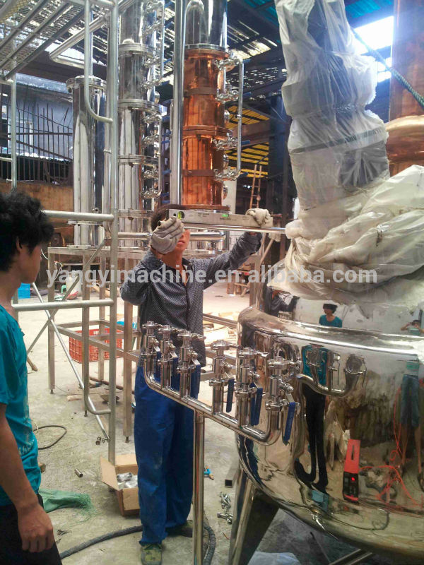 copper distiller/copper distillation equipment/distiller boiler