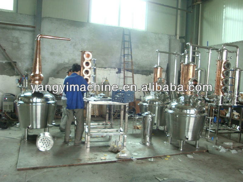 copper distiller/copper distillation equipment